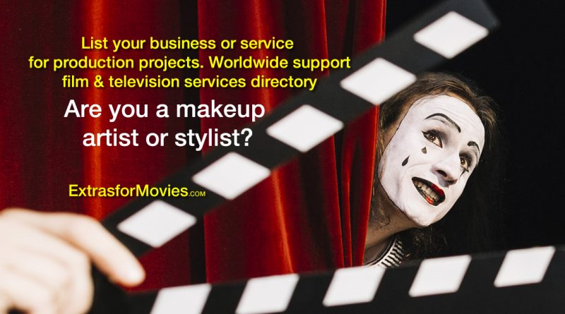 Makeup stylists wanted for films television production directory