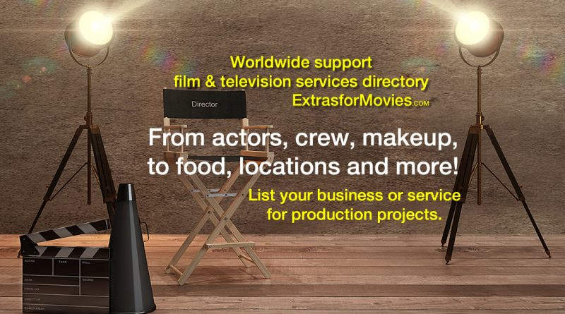 add production listing directory for filming